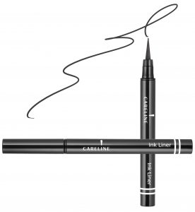 "איילינר טוש גמיש 3 מ""ל Careline Ink Liner Black"