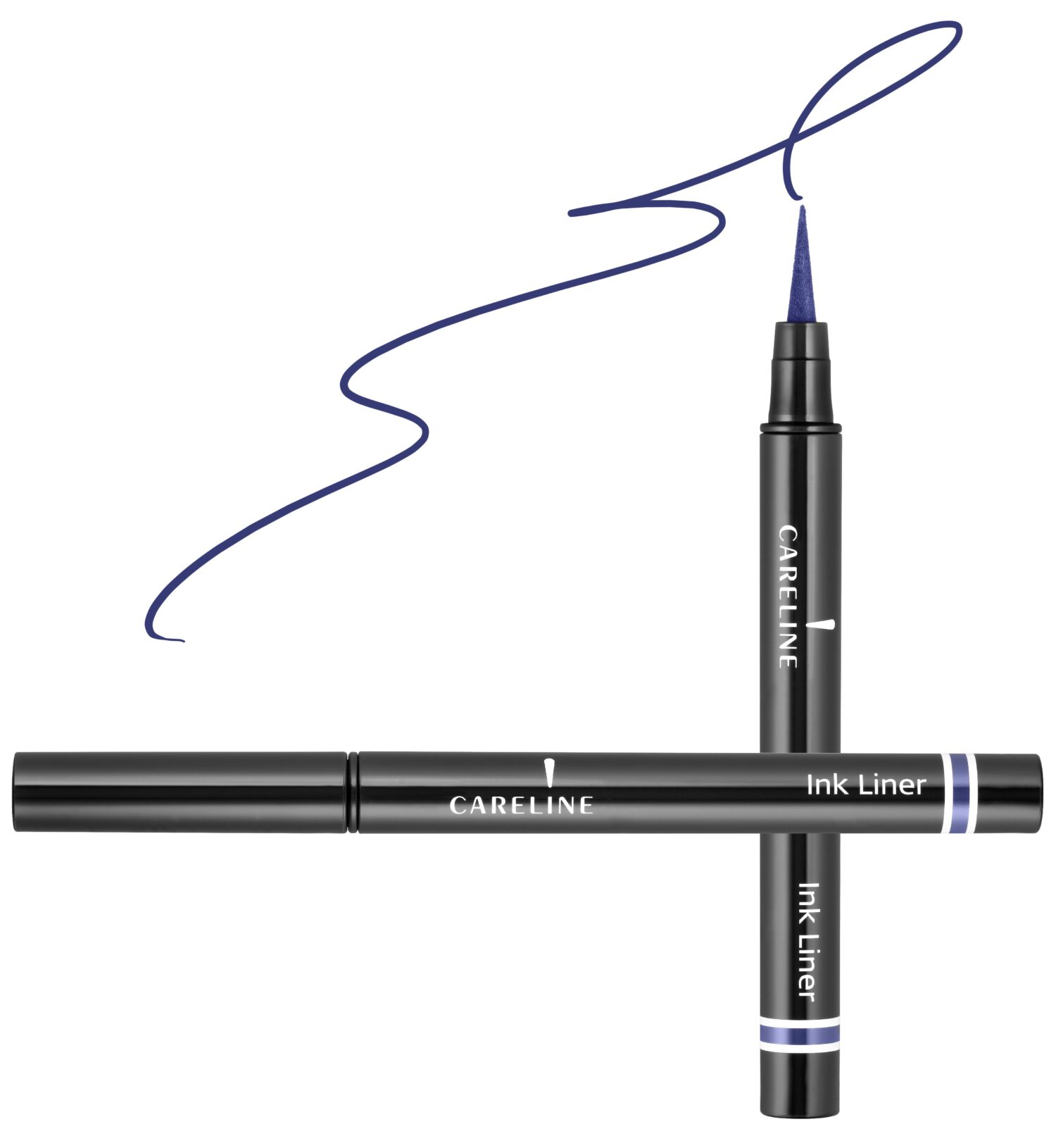 "איילינר טוש גמיש 3 מ""ל Careline Ink Liner Blue"