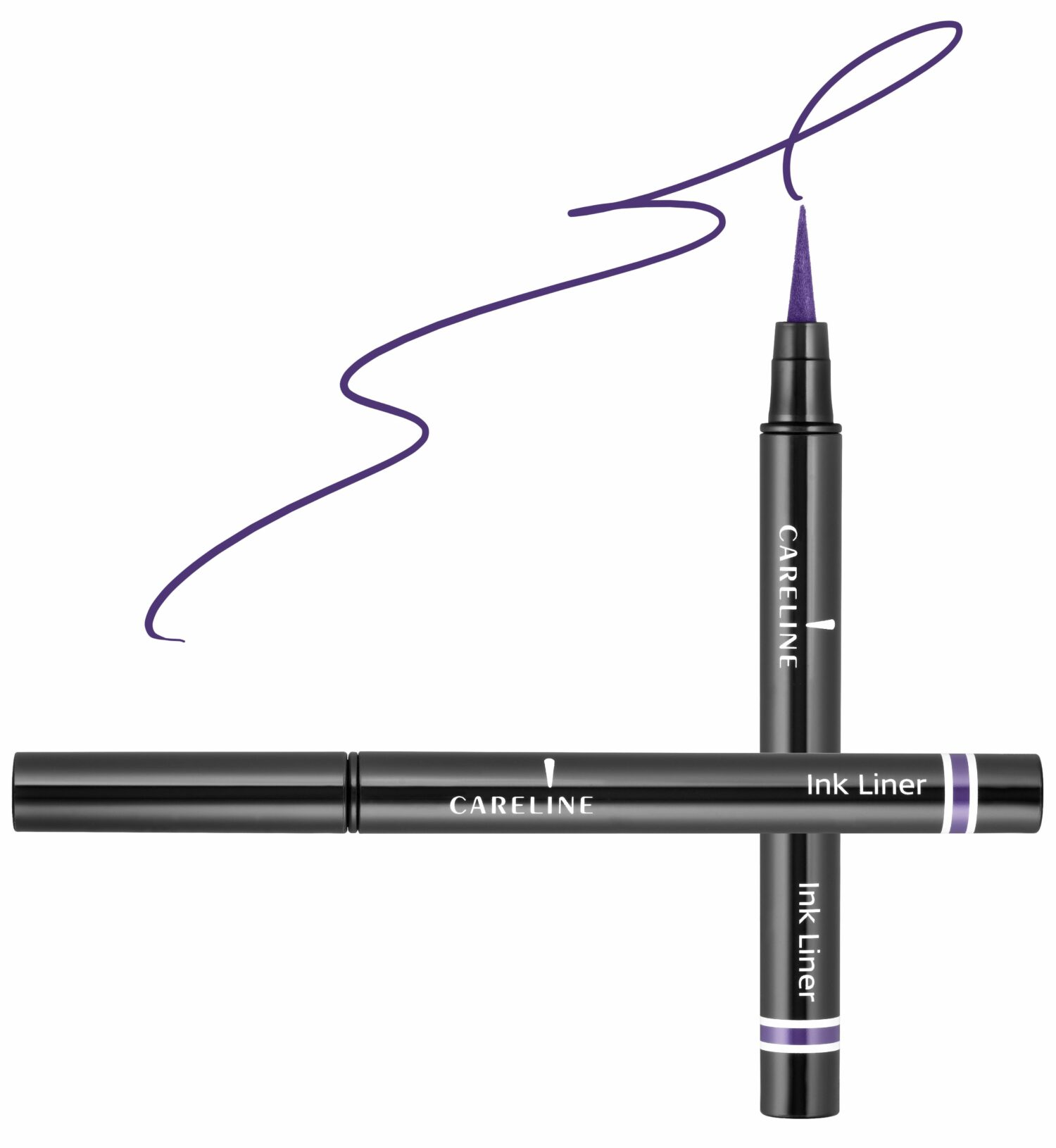 "איילינר טוש גמיש 3 מ""ל Careline Ink Liner Purple"