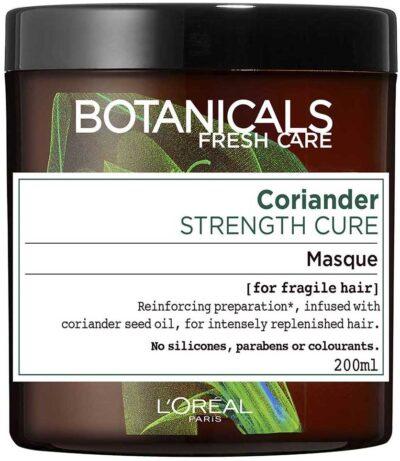 """מסיכה טבעית לשיער עדין 200 מ""""ל L'Oréal Paris Botanicals Fresh Care Coriander For Fragile Hair"""