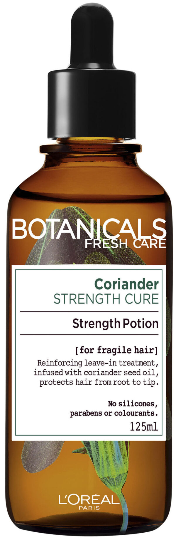 "סרום טבעי לשיער 125 מ""ל L'Oréal Paris Botanicals Fresh Care Coriander Strength Cure Potion"