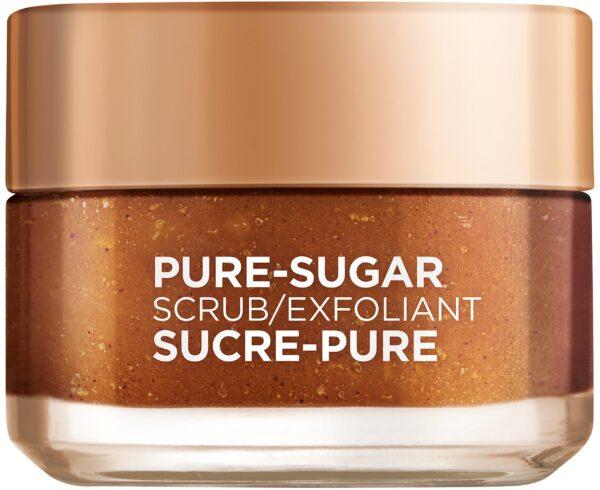 """גרגרי פילינג סוכר למראה עור קורן 50 מ""""ל L'Oréal Paris Smooth Sugars Scrub"""