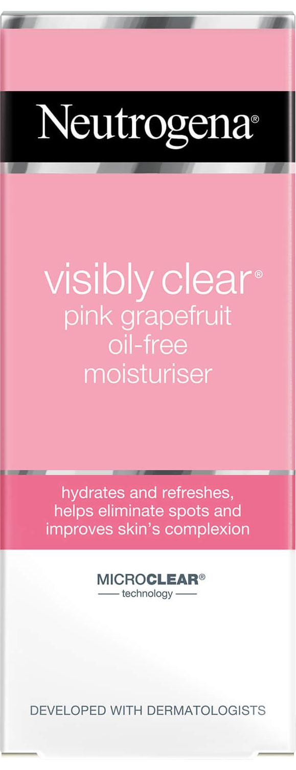 קרם לחות ללא שומן בניחוח אשכולית ורודה מסדרת ®Visibly Clear