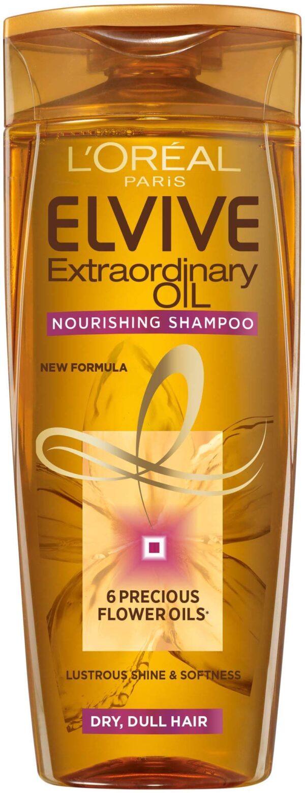 """שמפו 6 שמנים מופלאים להזנת שיער יבש עד יבש מאוד 550 מ""""ל"""