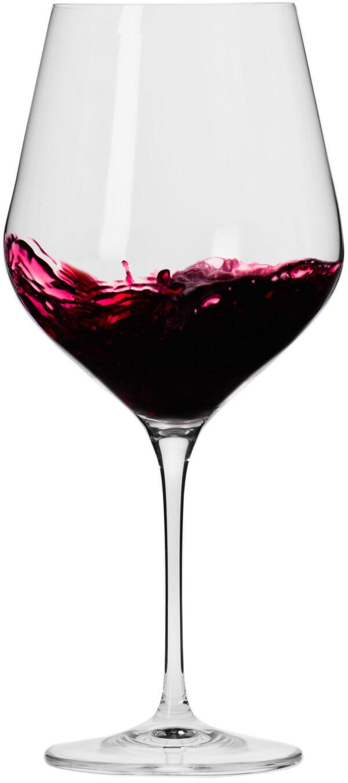 """סט 6 כוסות יין אדום 850 מ""""ל Krosno Splendour Collection Red Wine Glass"""