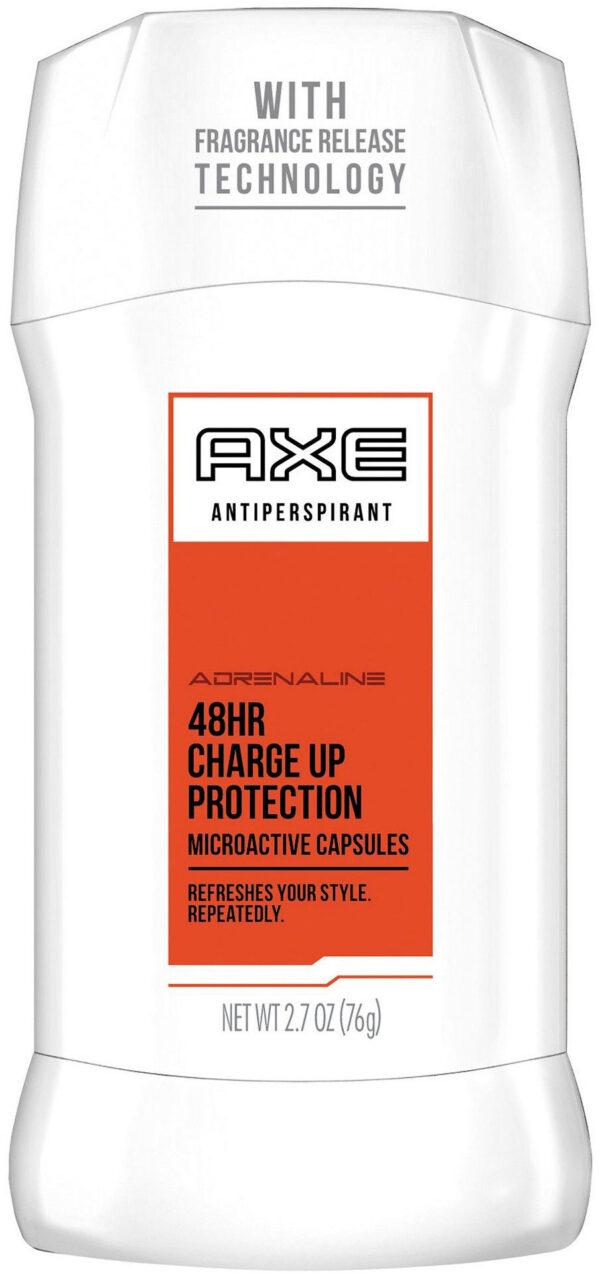 אקס דאו סטיק אדרנלין אנטיפרספירנט 76 גרם 48HR Charge Up Protection